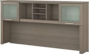 Bush Furniture Somerset Desk Hutch, 72W, Ash Gray