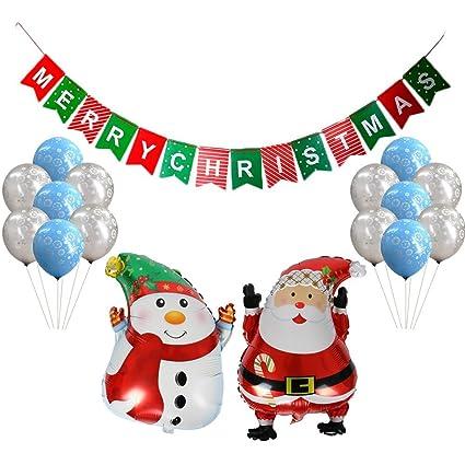 dingjin christmas party supplies setincludes 1 pcs merry christmas banner2 pcs santa