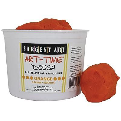 Sargent Art 85-3314 3-Pound Art-Time Dough, Orange: Arts, Crafts & Sewing