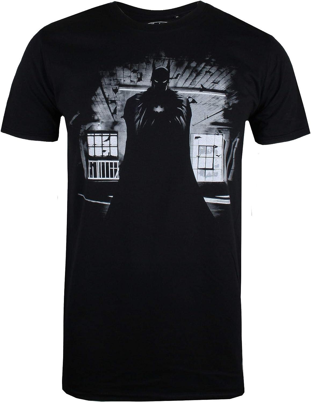 DC Comics Batman Dark Camiseta, Negro (Black Blk), Medium para Hombre: Amazon.es: Ropa y accesorios