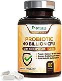 Probiotic 40 Billion CFU - Guaranteed Potency Until Expiration - 15x More Effective, Delay Release, Lactobacillus…