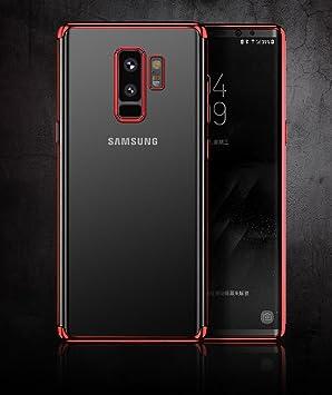 Funda compatible con Samsung Galaxy S9 plus diseño especial único electroplating funda compatible con Samsung S9 plus carcasa compatible con Samsung ...