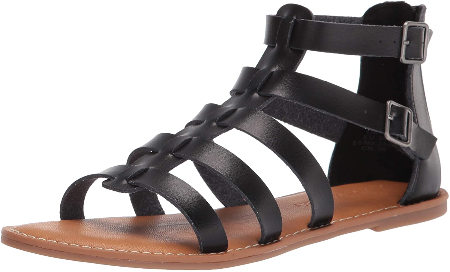 Amazon Essentials Women's Gladiator Flat Sandal