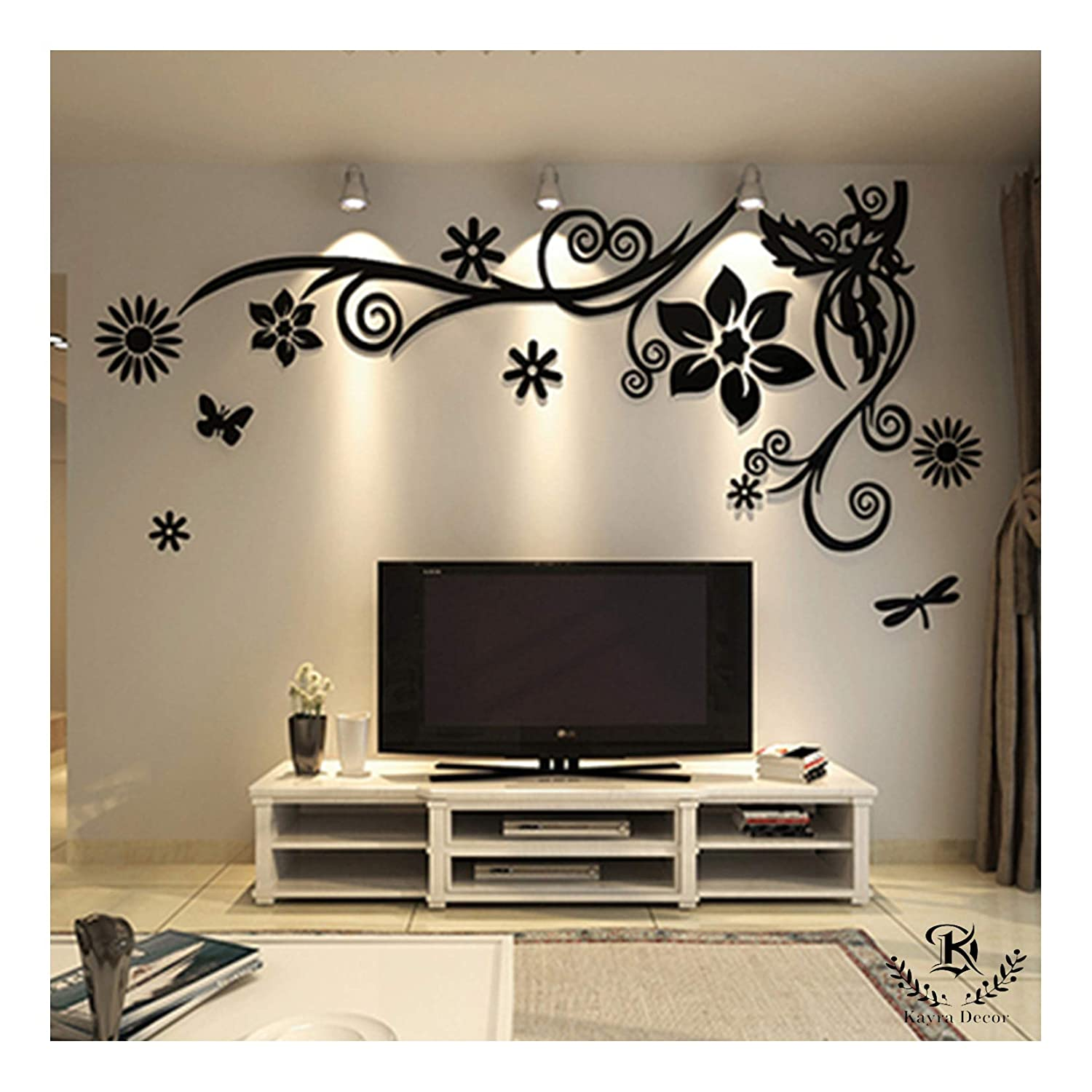 Wall stencils for bedroom wall decor