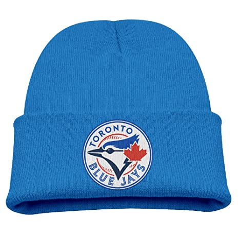 a3b19ee56ccf Toddler Kids Toronto Blue Jays Logo Knit Beanies Cap  Amazon.ca  Clothing    Accessories