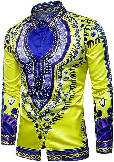 Camisa De Solapa Estampada Africana Tradicional Camiseta De ...