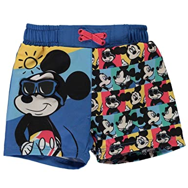 f56db01a96 Amazon.com: Mickey Mouse Board Shorts Baby Boys Pants Bottoms Swimwear  Short Trousers: Clothing