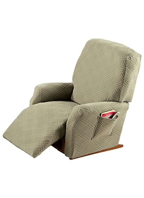 Awe Inspiring Carol Wright Gifts Stretch Slip Covers Color Sage Size Recliner Fits Up To 88 Back Circ Sage Size Recliner Fits Up To 88 Back Circ Beatyapartments Chair Design Images Beatyapartmentscom