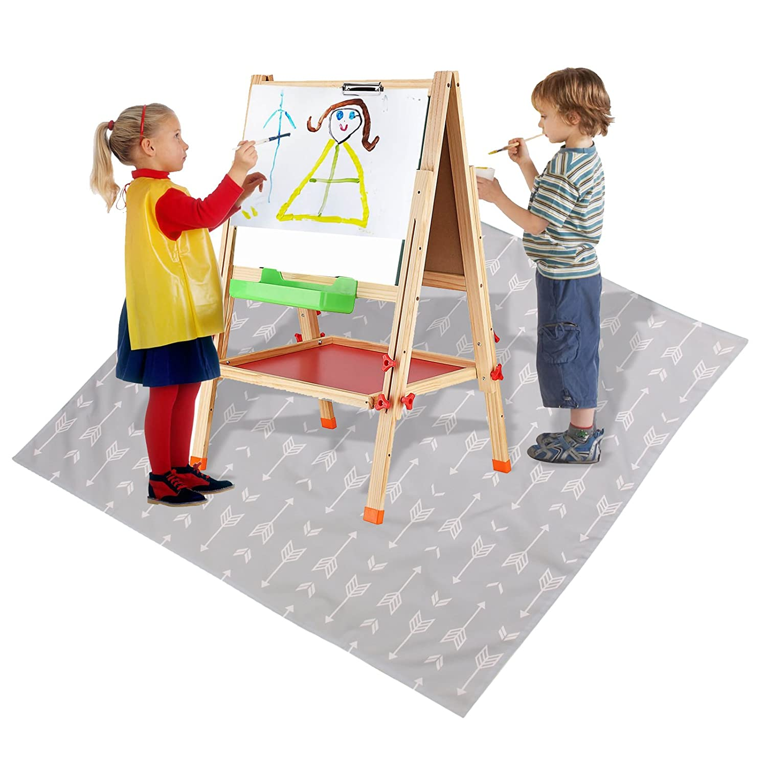 51 Splat Mat For Under High Chair Arts Crafts Wo Baby