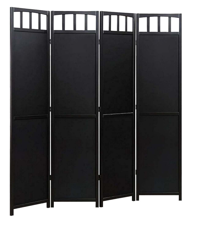 Amazoncom Legacy Decor 4 Panel Solid Wood Room Screen Divider