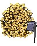 Kolpop Luces Exterior, Guirnalda Luces Exterior Solar, LED Solar Jardin 24 Metros 240 LED Blanco Cálido, 8 Modos de Luz…