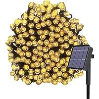 Kolpop Luces Exterior, Guirnalda Luces Exterior Solar, LED