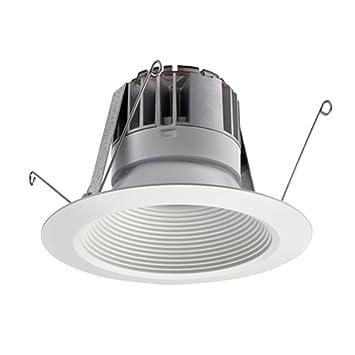 amazon com lithonia lighting 5bpmw led m6 5 inch white led recessed