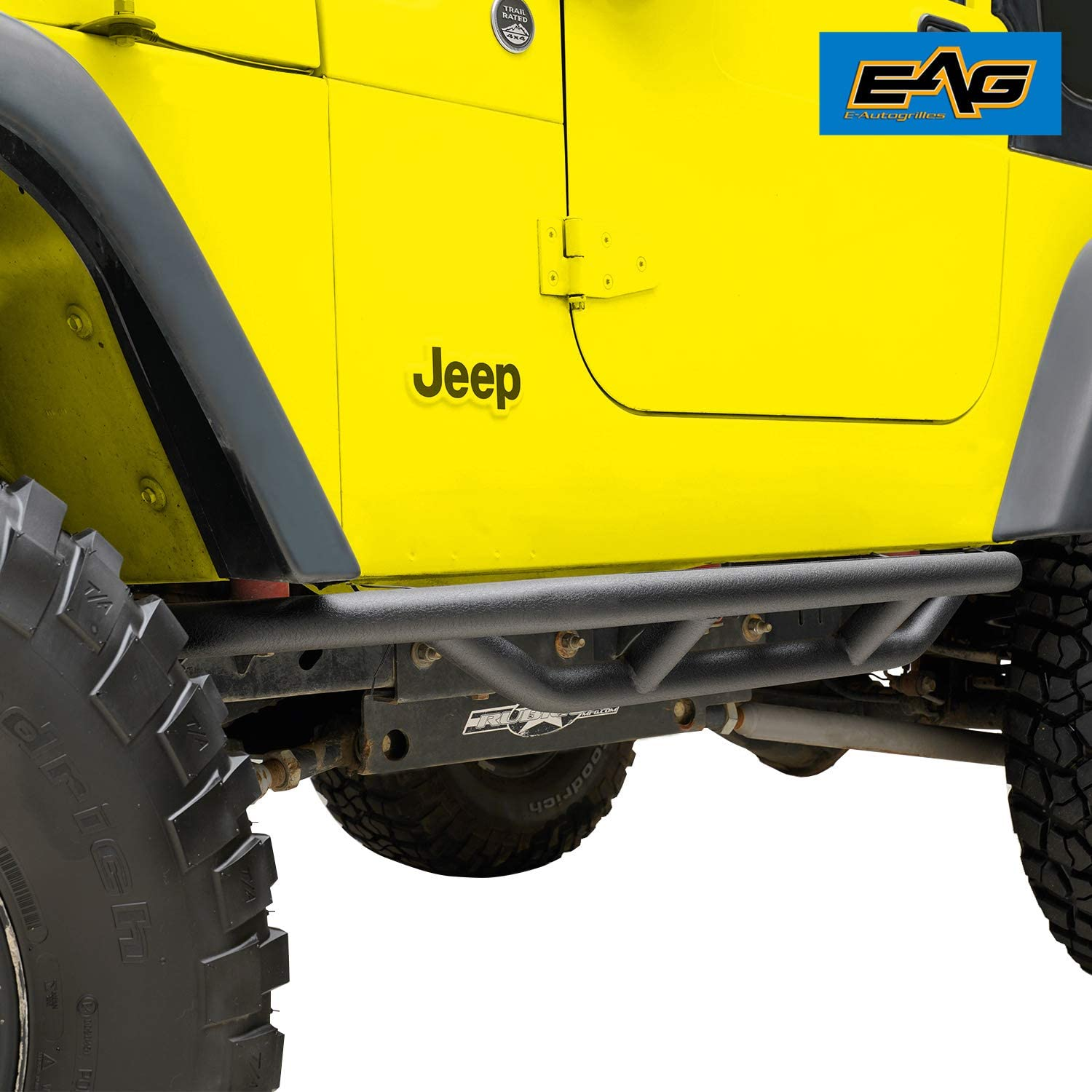 Running Boards KYX Running Boards Side Steps Nerf Bars Fit 1987 ...