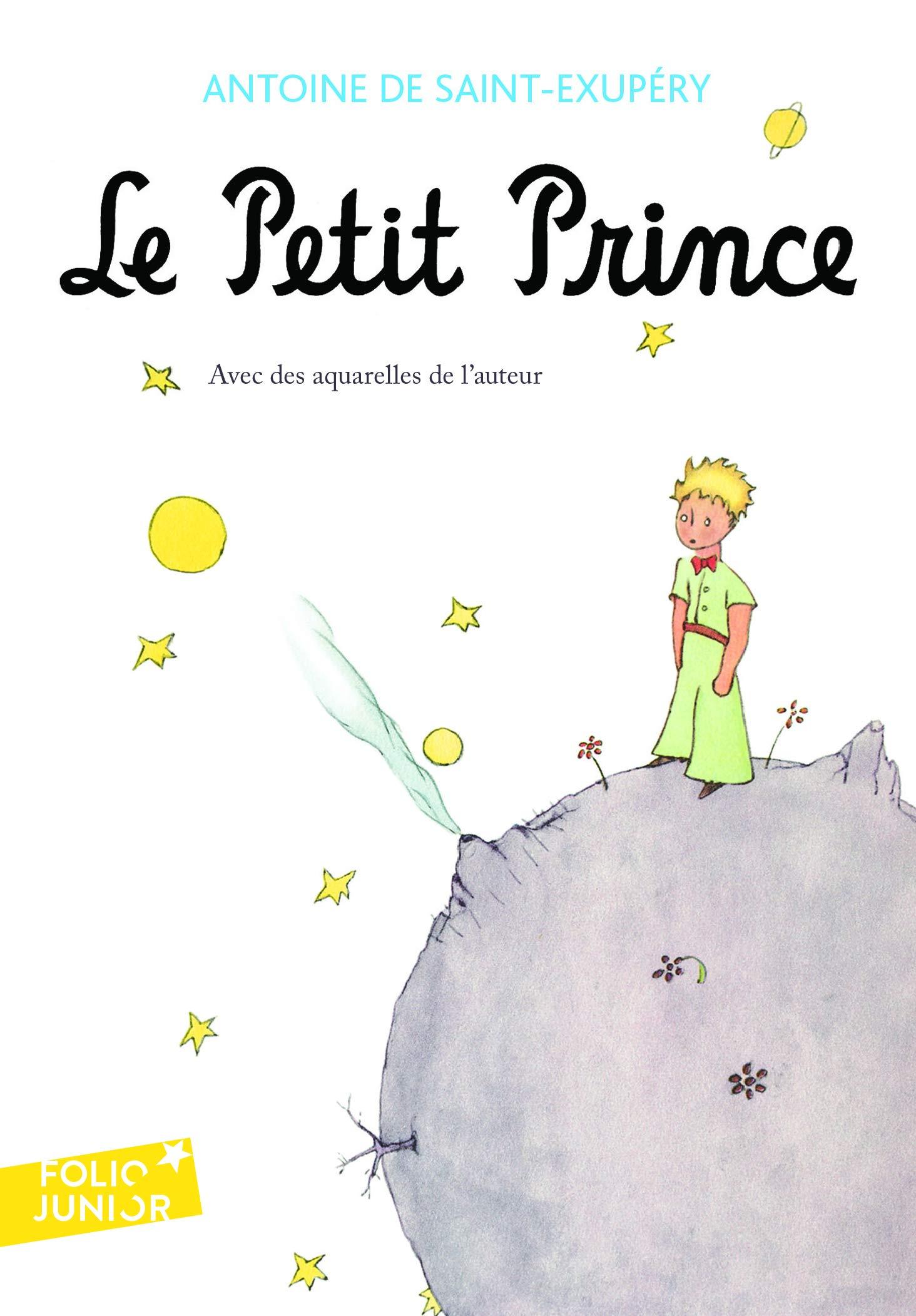 Le petit Prince: Avec Des Aquarelles de L'Auteur (Folio Junior):  Amazon.co.uk: Saint-Exupery, Antoine de: 9782070612758: Books