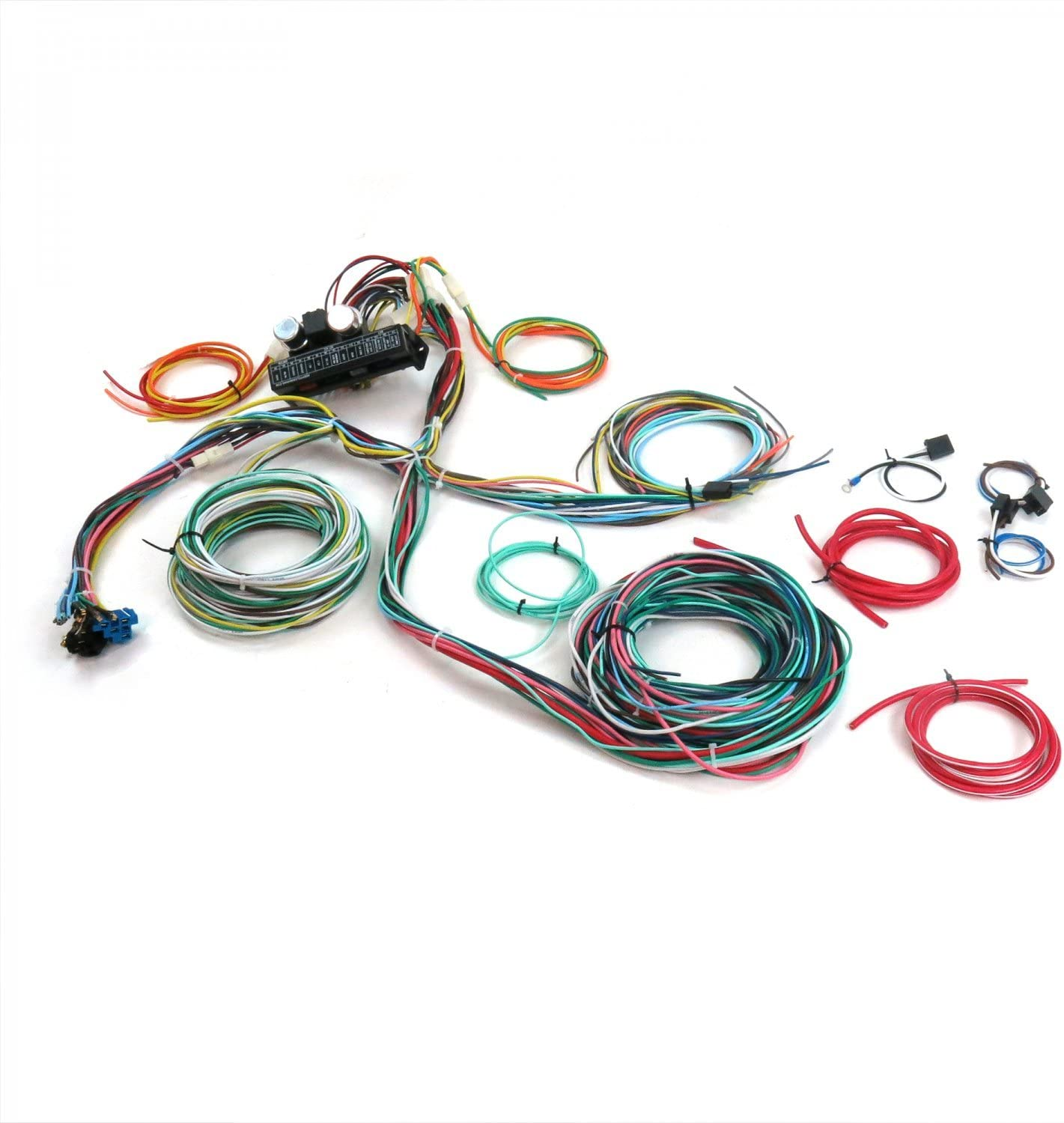 Amazon.com: Keep It Clean 689430 Wiring Harness (Ultimate 15 Fuse 12V  Conversion 46 1946 Ford Pickup-Truck,Panel): AutomotiveAmazon.com