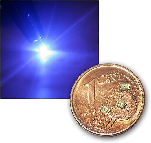 World Trading Net 20 Smd Led 0805 Blau Klar Typ Elektronik
