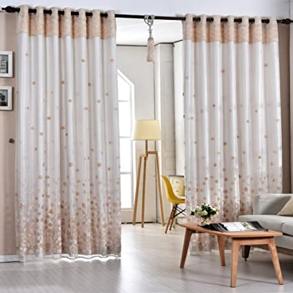Etonnant Curtain Modern Chinese Style Garden Bedroom Living Room Curtains Blackout  Shade Floor To Ceiling Bay