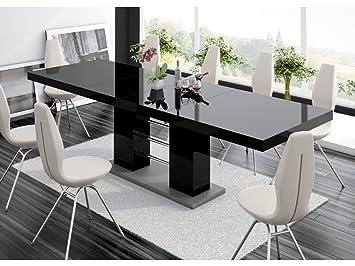 H MEUBLE Mesa a Comedor diseño Extensible 210 ÷ 260 cm x P: 89 cm x ...