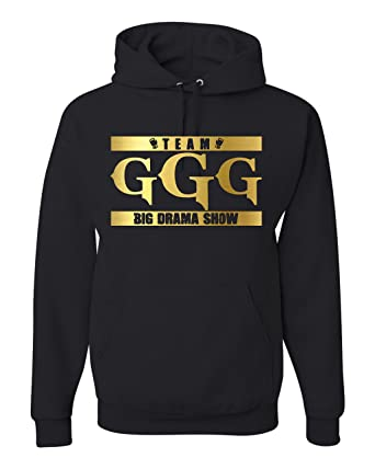abe0fbf377b8c8 Freedomtees Team GGG Big Drama Show Gennady Golovkin Unisex Hoodie  Sweatshirt (S)