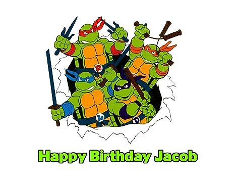 Amazon.com: Teenage Mutant Ninja Turtles 90s TMNT Comestible ...