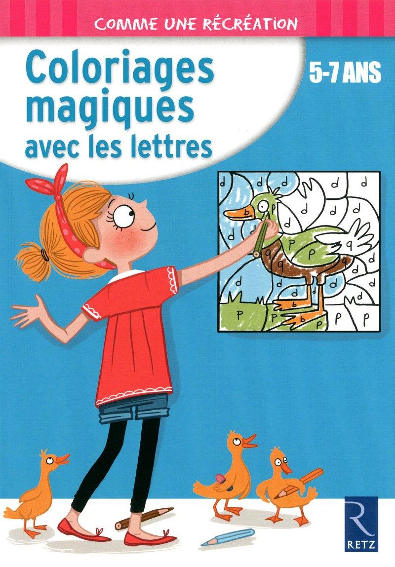 Amazon Fr Coloriages Magiques Avec Les Lettres Robert Ernest