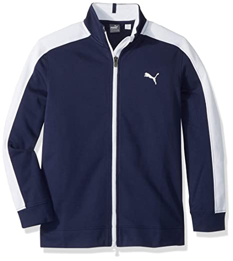 957909334a55 Amazon.com  PUMA Golf Boys 2018 Heritage Track Jacket  Sports   Outdoors