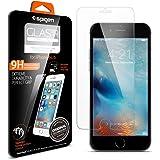 SPIGEN - SGP11588 Protector de pantalla de vidrio templado para móvil Ultra Resistente Apple iPhone 6/6S 4.7 Inch