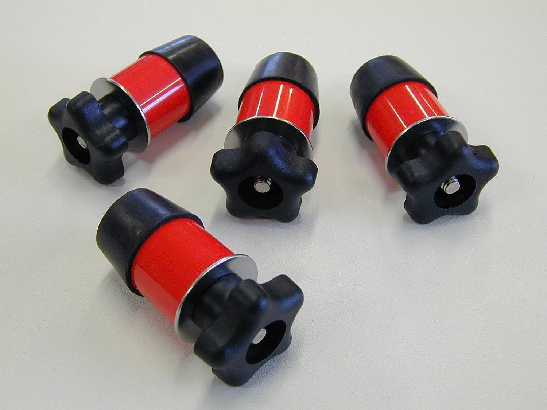 Set of (4) Polaris Lock & Ride Type Knob Anchor Kit for Ranger UTV's Simply Homemade 4333030311