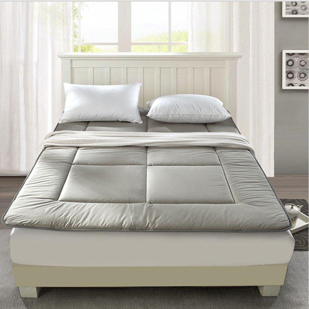 Tatami mats mat cushion mattress mattress charcoal student 0.9m dorm room fold 1.2m bed 1.8m-A Queen1