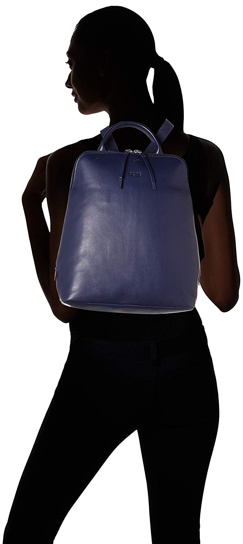 BREE dam Toulouse 8 ryggsäck, 16 x 33 x 28 cm Blue (Navy)