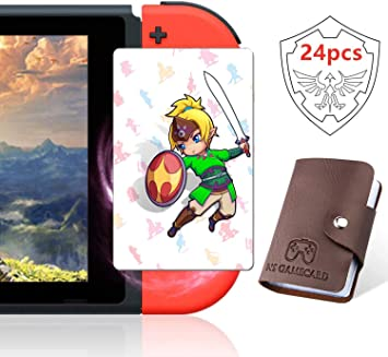 24 tarjetas NFC para The Legend of Zelda Breath of the Wild ...