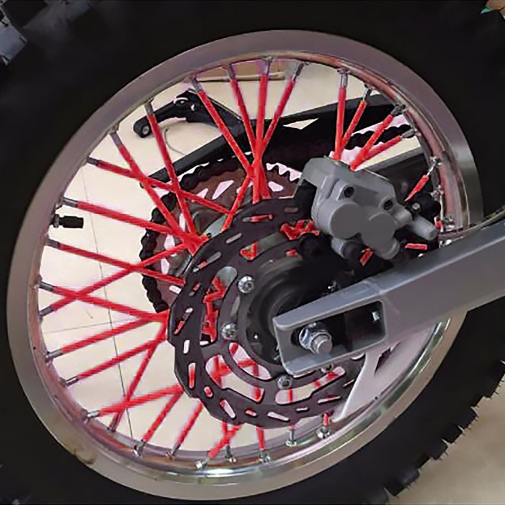 Hot Sell BJ Global 72 Pcs Fashion Universal Motorcycle Dirt Bike Enduro Off Road Wheel Rim Spoke Shrouds Skins Covers For CRF CR YZF KLX EXC KLX KX
