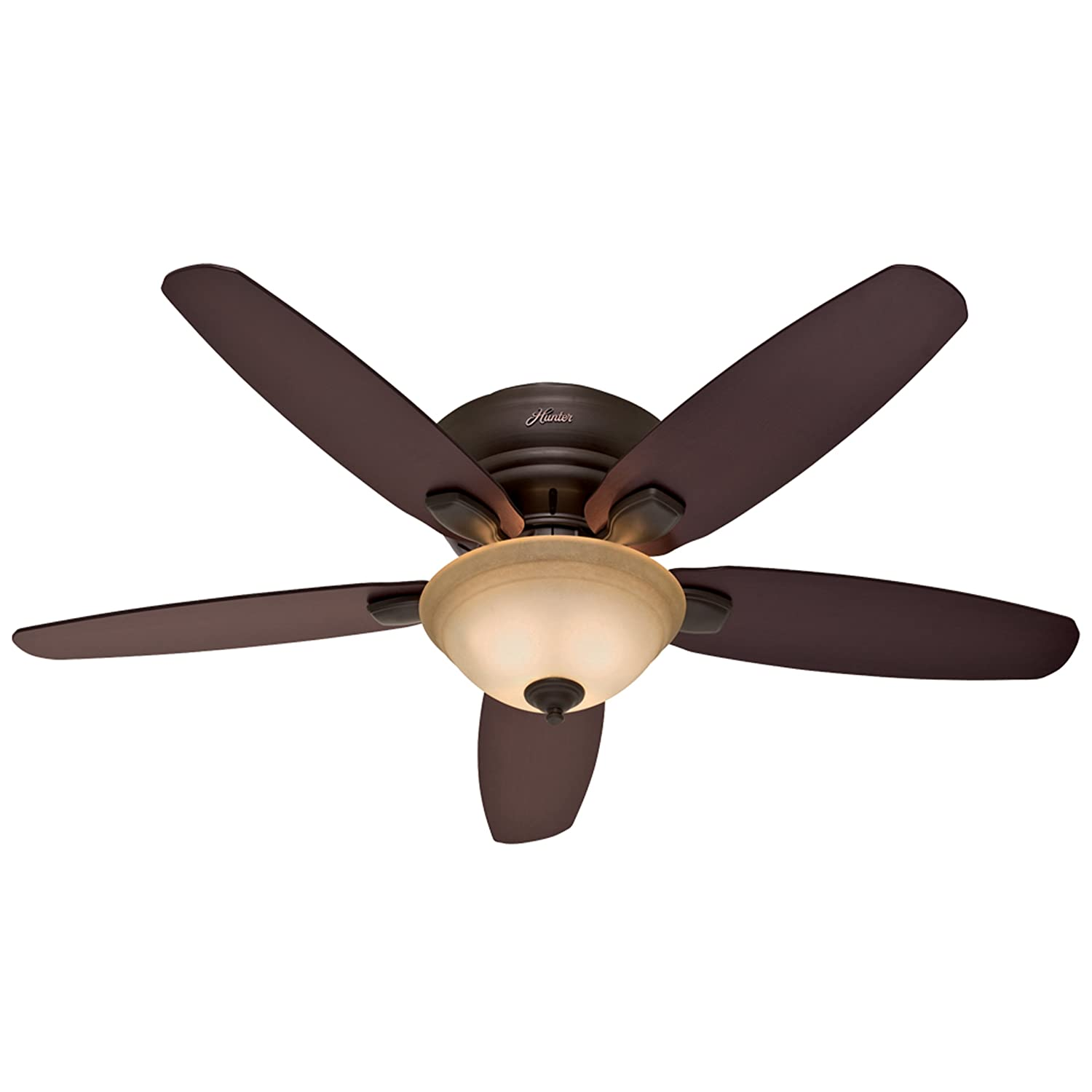 Hunter Fremont 52 Inch 5 Blade Single Light Ceiling Fan