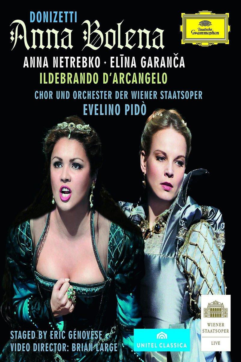 Blu-ray : Anna Netrebko - Donizetti: Anna Bolena (Blu-ray)