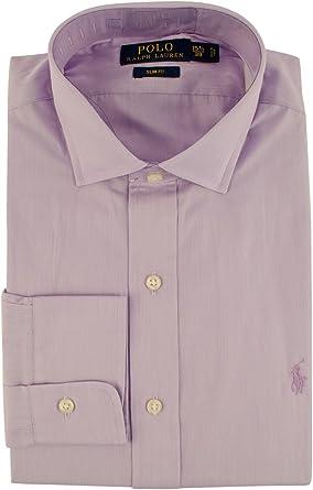 Polo Ralph Lauren Men's Slim Fit Hairline Stripe Dress Shirt at ...