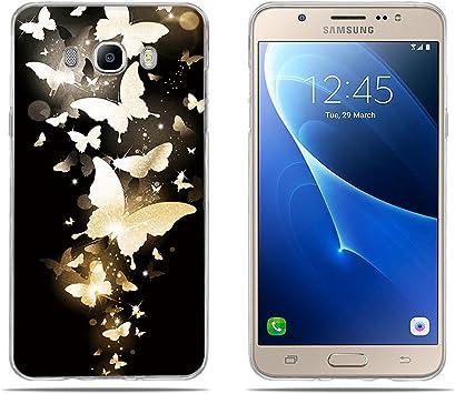FUBAODA, Fundas para Samsung Galaxy J7 (2016) Carcasas Protección ...