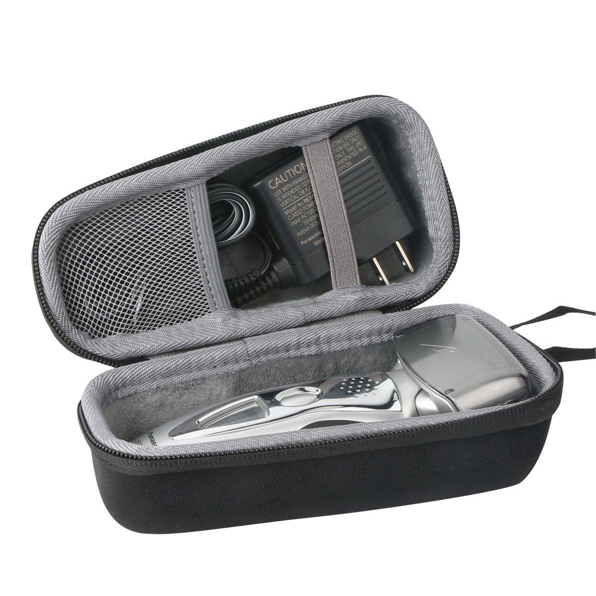 Duro Viajar Caso Cubrir para Panasonic ES-RF31/ES-RF41 Afeitadora de 4 Hojas y Cargador Cable por co2CREA AHGRD006452