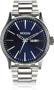 Nixon Reloj Analógico para Hombre de Cuarzo con Correa en Acero Inoxidable A356-1258-00