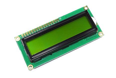 A grün lcd modul hd  arduino parallel pi serielle