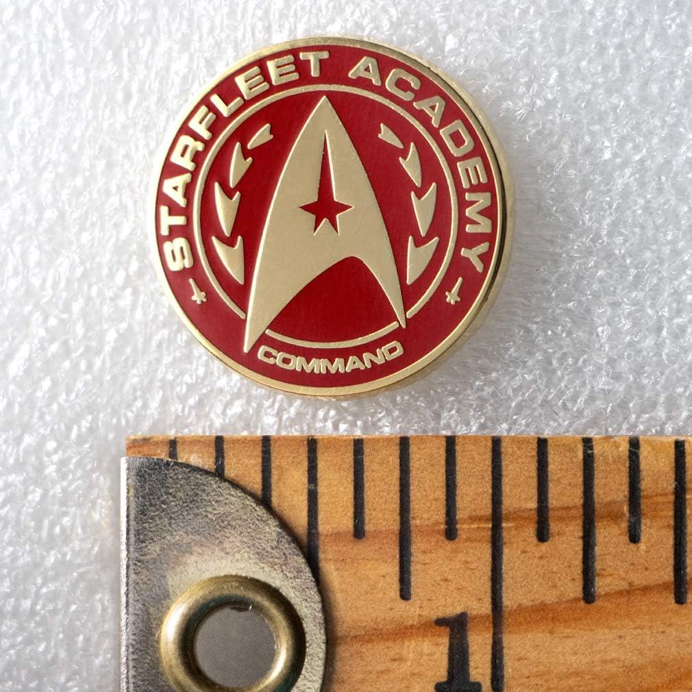 Ata-Boy Star Trek Starfleet Academy Command Insignia 1//2 Full Color Enamel Pin