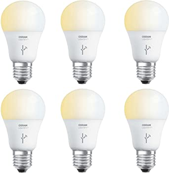 6-Pack Sylvania Osram 60 Watt A19 Tunable Smart Home LED Light Bulb