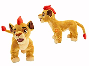 "Disney el rey León de peluche ""kopa"" THE Lion guard KION peluche plush"