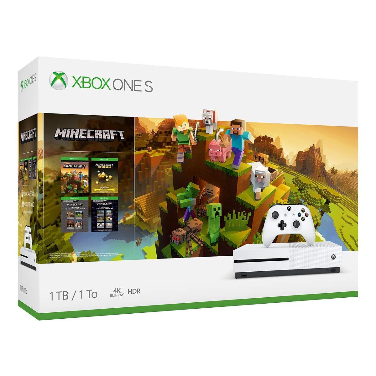 Xbox One S 1TB Console - Minecraft Creators Bundle (Renewed) by Microsoft (Image #2)