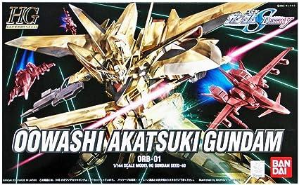 Gundam Owashi Akatsuki GUNPLA HG High Grade 1/144: Amazon.es: Juguetes y juegos