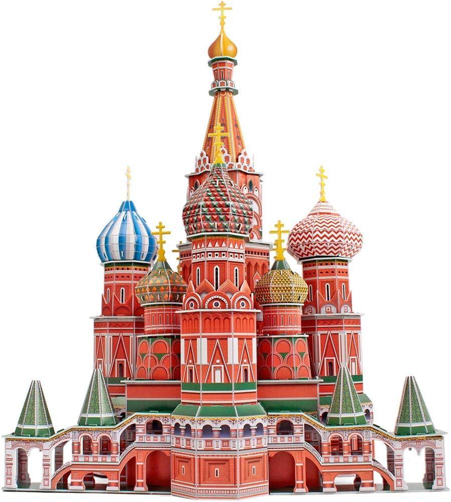 St Basils Cathedral/Catedral Basilius Puzzle 3D Cubic Fun: Amazon.es: Juguetes y juegos