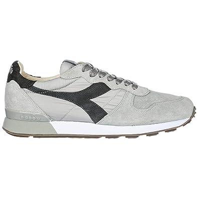 93ee8a9478 Amazon.com | Diadora Heritage Men Camaro h s sw Sneakers Gray ash ...