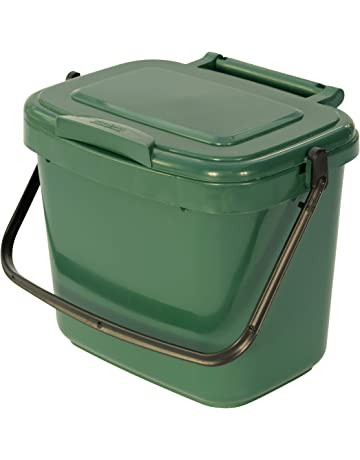 All-Green - Cubo para compost (5 L), color verde