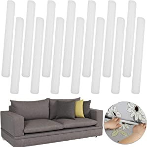 Non Slip Foam Grips for Couch Slipcovers, Stretch Sofa Slipcovers Couch Cover Foam Tucker Grips Sofa Tuckers Grips Antislip, Couch Protector Foam Sticks for Furniture Protector ( 14 Pcs )