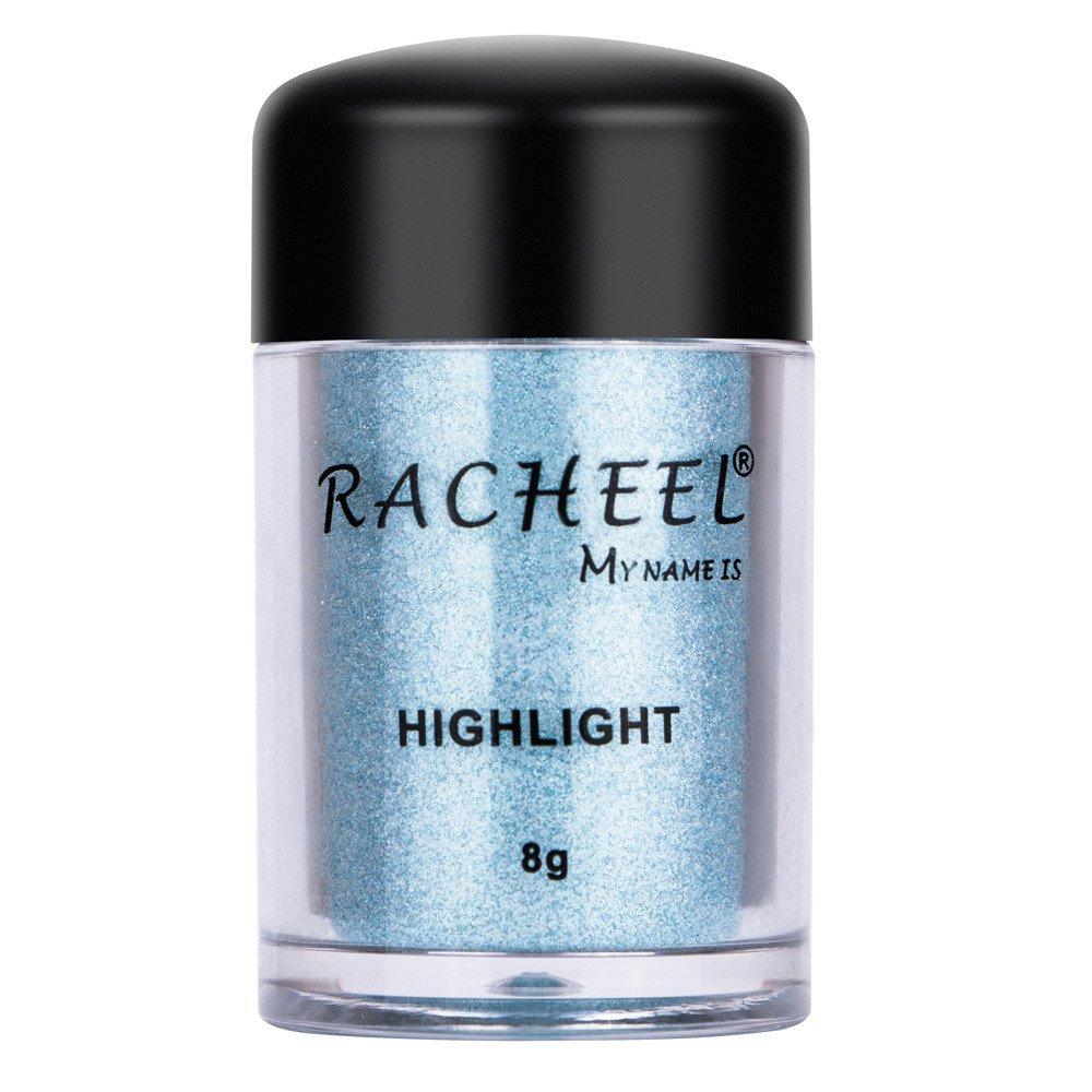 CapsA New Fashion Eyeshadow, Women Cosmetics Eye shadow Color Makeup Pro Glitter Eyeshadow Powder 6 Colors (E)